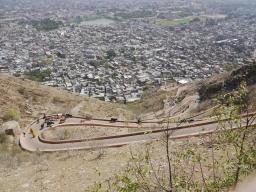 Rajasthan, Jaipur clap de fin et direction l'est.