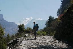 Népal, mes premiers pas dans l'himalaya.
